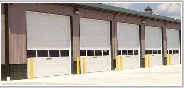 Industrial Garage Doors in Huntersville, North Carolina