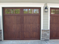 residential garage door replacement