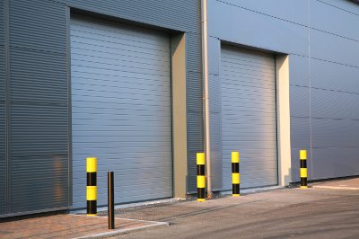 Ribbed Steel Commercial Doors in Mooresville, North Carolina